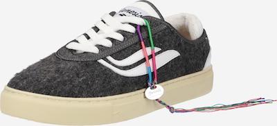 GENESIS Sneakers in mottled grey / natural white, Item view