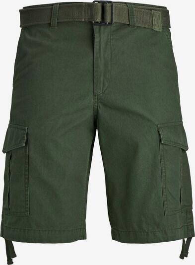 JACK & JONES Kargo hlače 'CHARLIE' | temno zelena barva, Prikaz izdelka