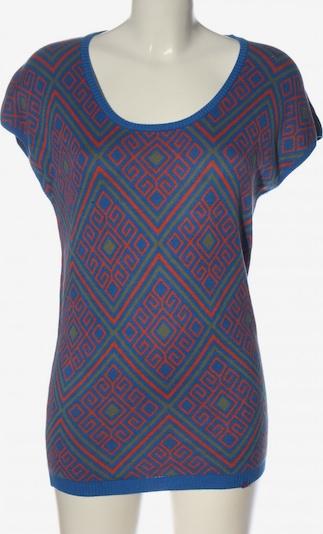 FLIP*FLOP Kurzarmpullover in S in blau / hellgrau / pink, Produktansicht