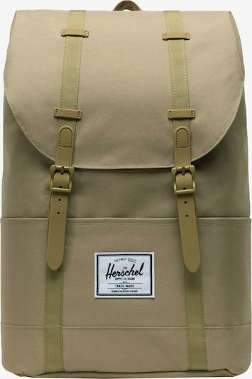 Herschel Sac à dos 'Retreat' en beige clair, Vue avec produit