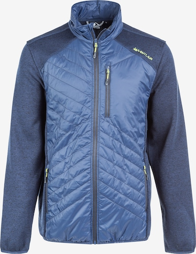 Whistler Outdoorjacke JAYDEN FLEECE HYBRID im modernen Look in blau, Produktansicht