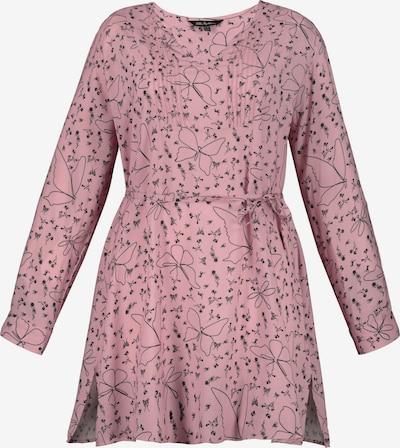 Tunica Ulla Popken di colore rosé / nero, Visualizzazione prodotti