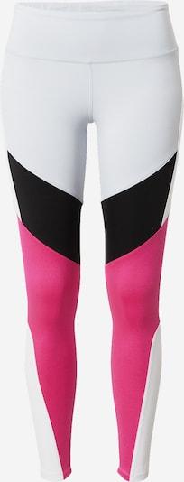 REEBOK Spordipüksid roosa / must / valge, Tootevaade