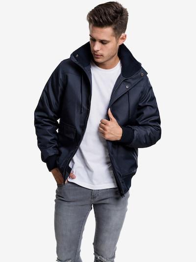Urban Classics Jacke in dunkelblau: Frontalansicht