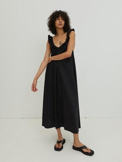 EDITED Kleid 'Francesca'  - (GOTS) in schwarz, Modelansicht