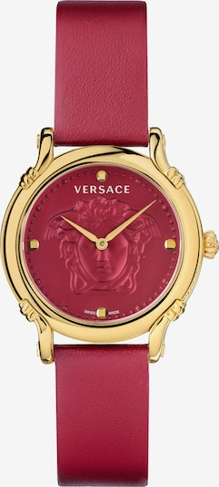 VERSACE Analog Watch in Gold / Red, Item view