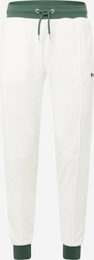 River Island Pantalon en vert / blanc, Vue avec produit