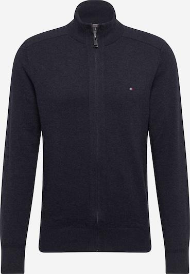 TOMMY HILFIGER Strickjacke 'PIMA' in schwarz, Produktansicht