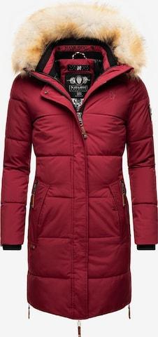 NAVAHOO Winter Coat 'Halina' in Red