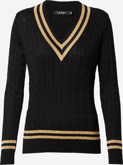 Pulover 'MEREN' Lauren Ralph Lauren pe galben auriu / negru: Privire frontală