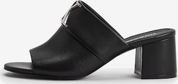 Calvin Klein Jeans Mules in Schwarz