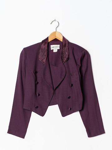 S.L. Fashion Blazer in S-M in Purple