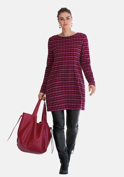 Emilia Lay Jerseykleid in rot, Modelansicht