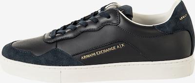 ARMANI EXCHANGE Sneaker in nachtblau / gold, Produktansicht