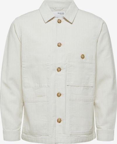 SELECTED HOMME Tussenjas 'Winsted' in de kleur Wit, Productweergave