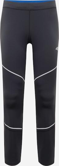 4F Pantalon de sport en noir / blanc, Vue avec produit