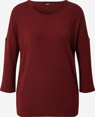 ONLY Shirt 'GLAMOUR' in blutrot, Produktansicht