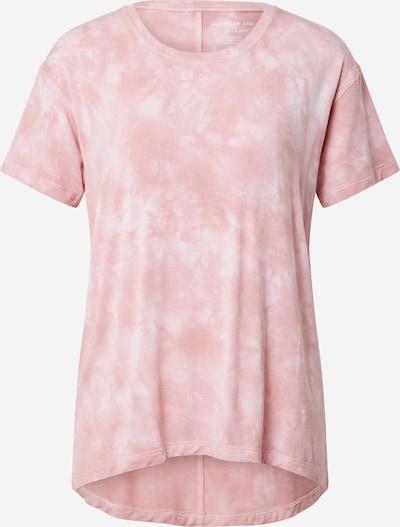 American Eagle Тениска в светлорозово / бяло, Преглед на продукта