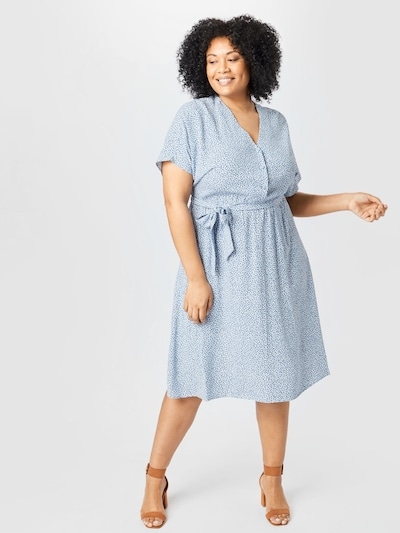 SELECTED FEMME Košulja haljina 'SLFENNA' u plava / svijetloplava, Prikaz modela