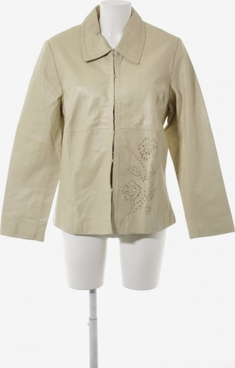 GreenHouse Outfitters Lederjacke in XL in creme, Produktansicht