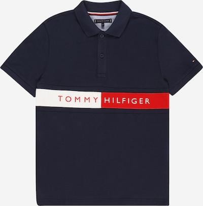 TOMMY HILFIGER Camiseta en navy / rojo fuego / blanco, Vista del producto