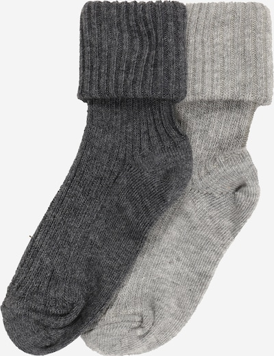 mp Denmark Socks in dark grey / grey mottled, Item view