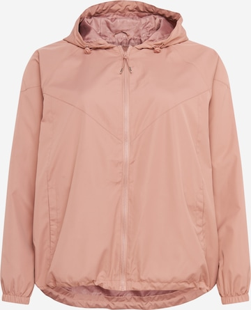Zizzi Jacke 'MTWENTY' in Pink