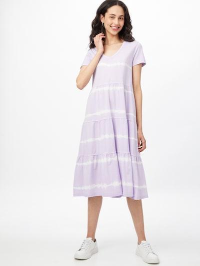 Noisy may Kleid 'BUSTER' in lila / weiß, Modelansicht