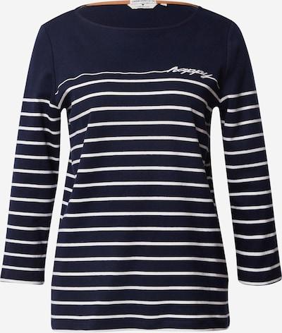 TOM TAILOR Majica u plava / bijela, Pregled proizvoda