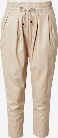 Karo Kauer Pantalon à pince en crème, Vue avec produit
