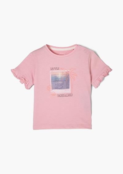 s.Oliver Тениска в пъстро / розово, Преглед на продукта