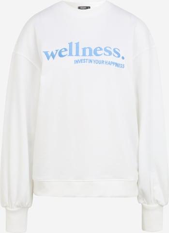 Missguided Petite Sweatshirt in Weiß