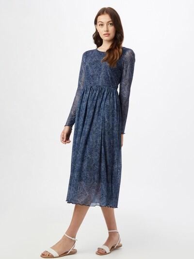 NÜMPH Kleid 'FREJA' in nachtblau / saphir, Modelansicht