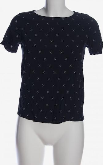EDC BY ESPRIT Kurzarm-Bluse in XS in schwarz / weiß, Produktansicht