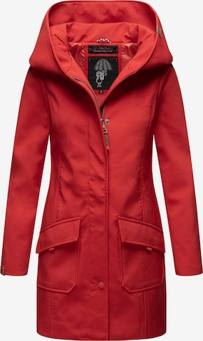 MARIKOO Between-Seasons Coat 'Mayleen' in Red