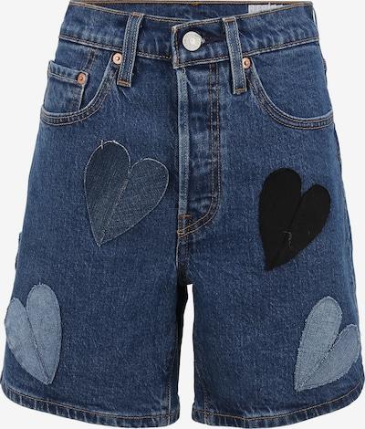 Levi's® Upcycling Jeansshort 'Shorts Kelvyn Colt Design' in blau, Produktansicht