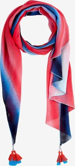 COMMA Pareo in dunkelblau / pink / weiß, Produktansicht