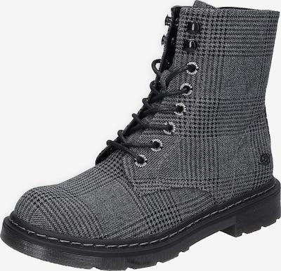 Dockers by Gerli Bottines à lacets en gris / noir, Vue avec produit