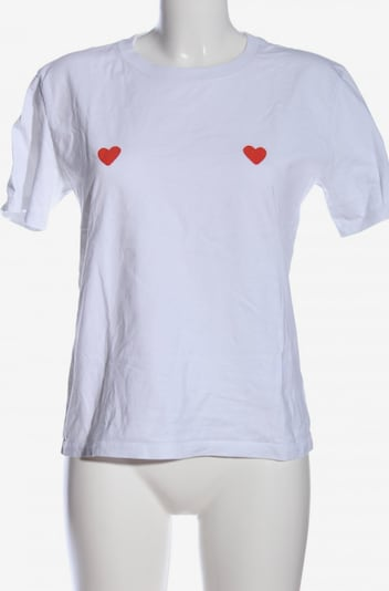 Stanley & Stella T-Shirt in S in rot / weiß, Produktansicht