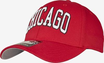 Starter Black Label Cap 'Chicago Flexfit' in rot / schwarz / weiß, Produktansicht