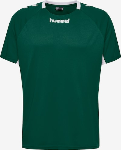 Hummel Funktionsshirt in grün / weiß, Produktansicht