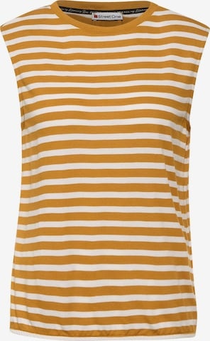 STREET ONE Top in Yellow