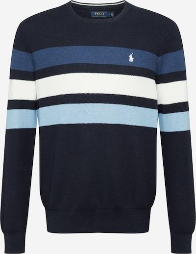 POLO RALPH LAUREN Sweatshirt in de kleur Navy / Azuur / Wit, Productweergave