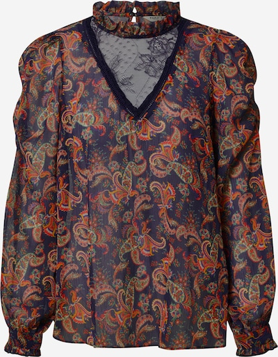 NAF NAF Blouse 'Milady C1' in navy / mixed colours, Item view