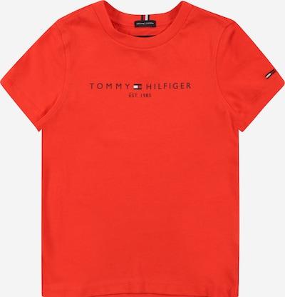 TOMMY HILFIGER T-Shirt en bleu marine / rouge, Vue avec produit