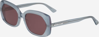 Akiniai nuo saulės iš McQ Alexander McQueen , spalva - šviesiai mėlyna / violetinė-mėlyna, Prekių apžvalga
