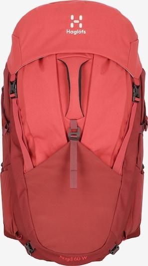 Haglöfs Sac à dos de sport en rouge, Vue avec produit