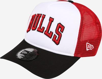 NEW ERA Cap in rot / schwarz / weiß, Produktansicht