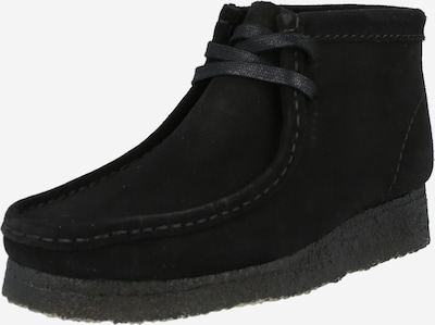 Clarks Originals Lace-up bootie 'Wallabee' in black, Item view