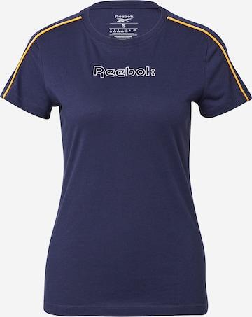 Reebok Sport Funksjonsskjorte 'Piping' i blå